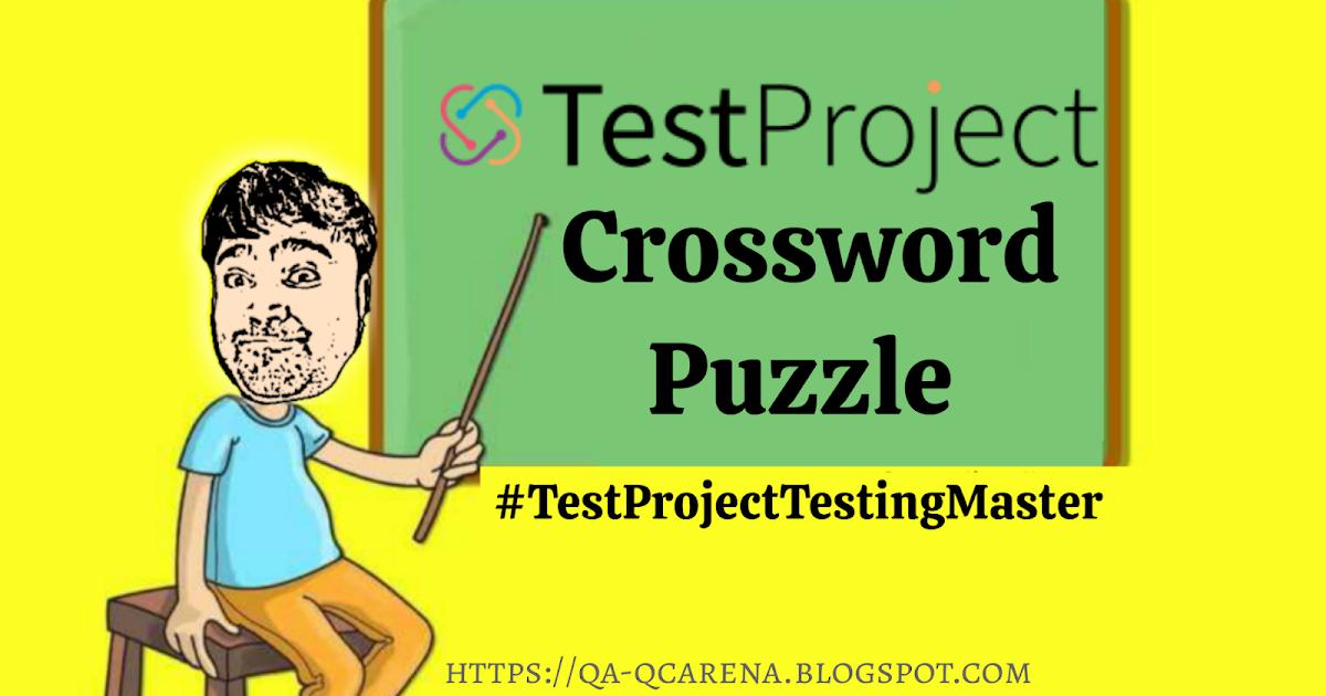 TestProject – Crossword Puzzle