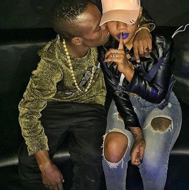 Bongo star Harmorapa and Amber Lulu photo
