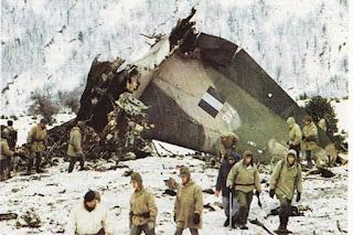 Σαν σήμερα η μεγαλύτερη τραγωδία για την ΠΑ με τους 63 νεκρούς του C-130 στο όρος Όθρυς