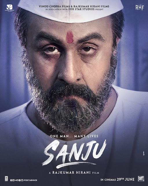 Sanju movie poster ranbeer in jail look