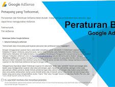 Peraturan Baru Google Adsense Mei 2018
