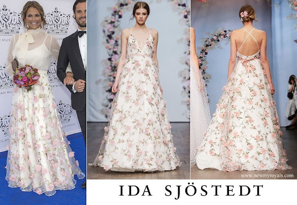 Princess Madeleine wore Ida Sjöstedt skirt