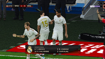 PES 2020 Copa del Rey Scoreboard by SG
