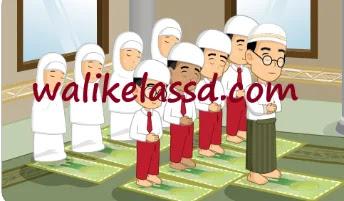Kunci-Jawaban-PAI-Kelas-4-Halaman-103-104-113-Pelajaran-9-Mari-Melaksanakan-Salat
