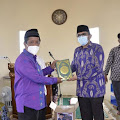 Wali Kota Hendri Septa Resmikan Masjid Jami' Majid Bin Zaid Alu Maadi