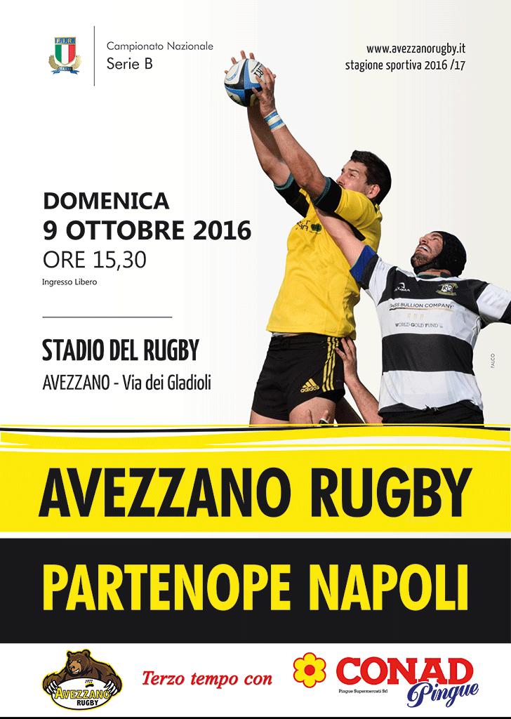Locandina campionato nazionale di rugby serie B