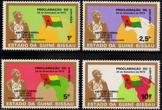 Guinea Bissau 1974 Independence First Issue