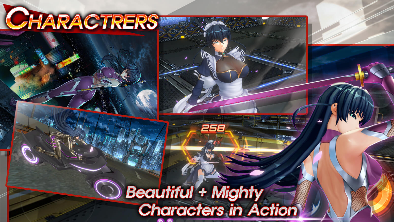 Action Taimanin characters