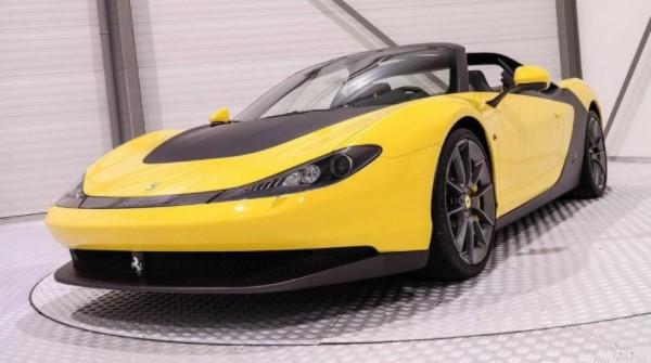 FANTASTIS! Hanya Ada 6 Unit di Dunia, Mobil Ferrari Sergio Ini Bisa Kamu Miliki dengan Membayar Rp 66 Miliar!