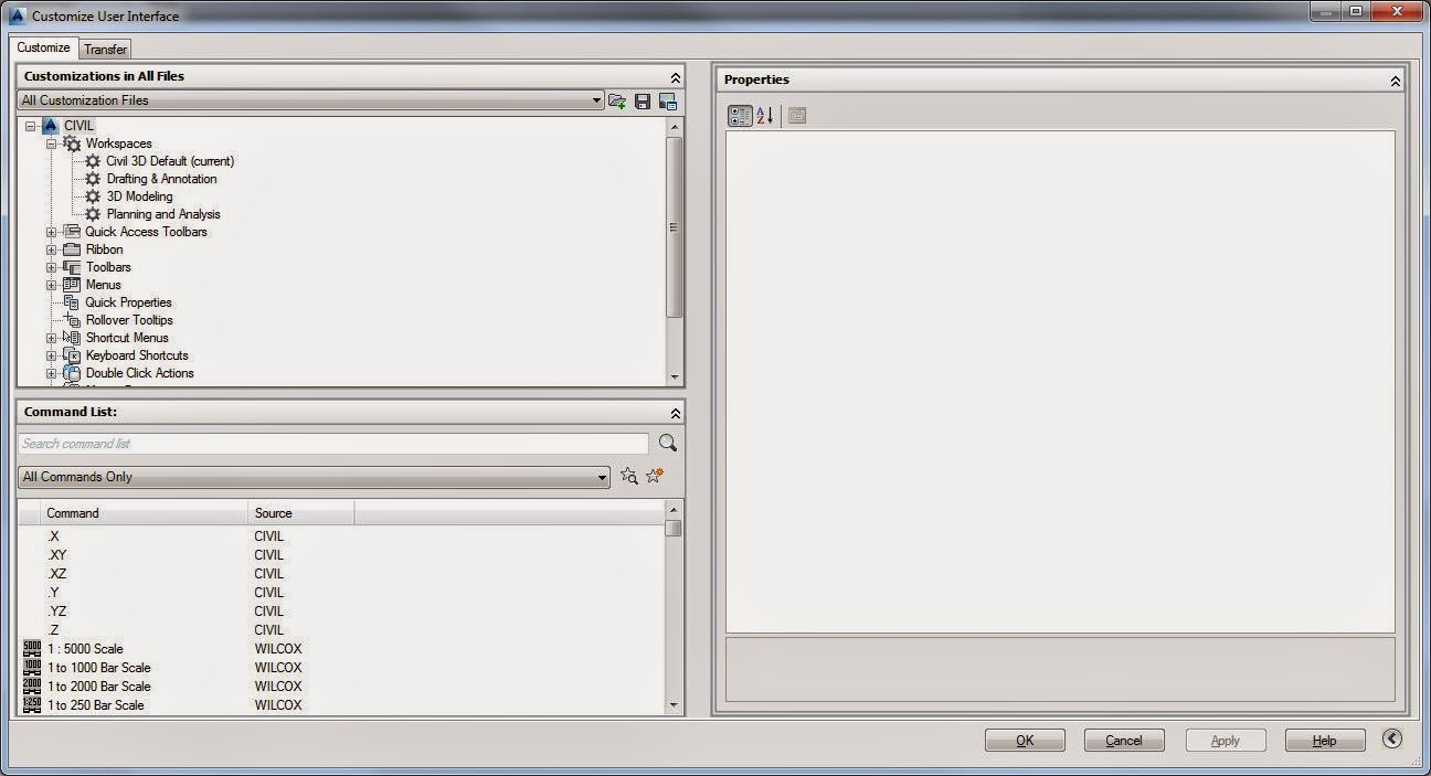 Frozen Layers: Create your own AutoCAD Shortcut Keys