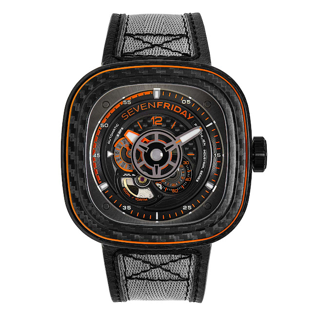 SEVENFRIDAY P3C/09 Orange Carbon