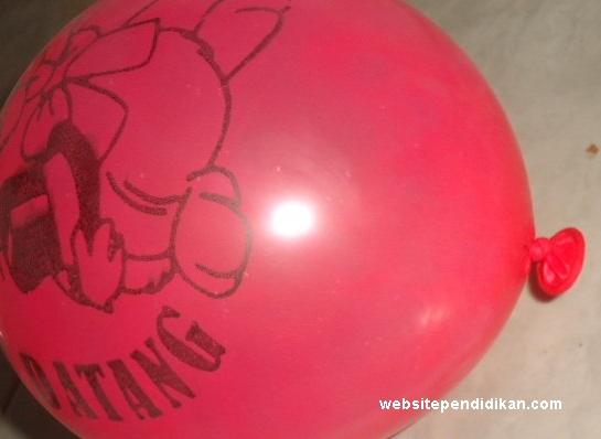 Contoh Pemuaian pada Balon