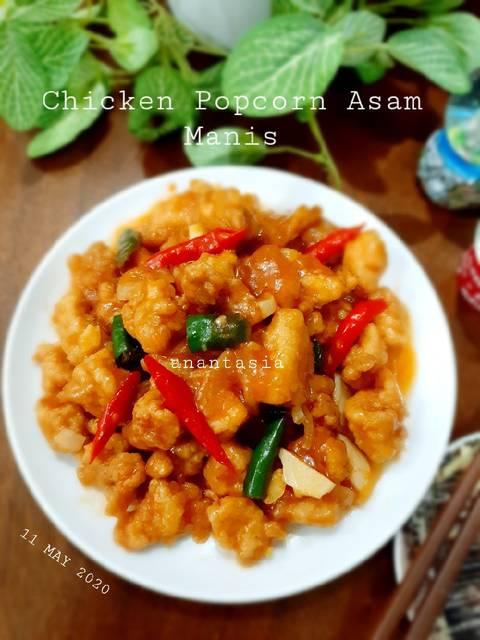 Chicken Popcorn Asam Manis By Anantasia Dewi