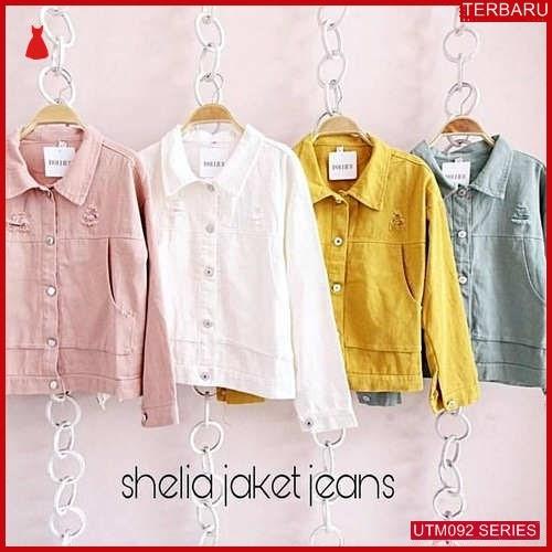 UTM092S68 Baju Sheila Muslim Jaket Dewasa Jeans UTM092S68 05C | Terbaru BMGShop