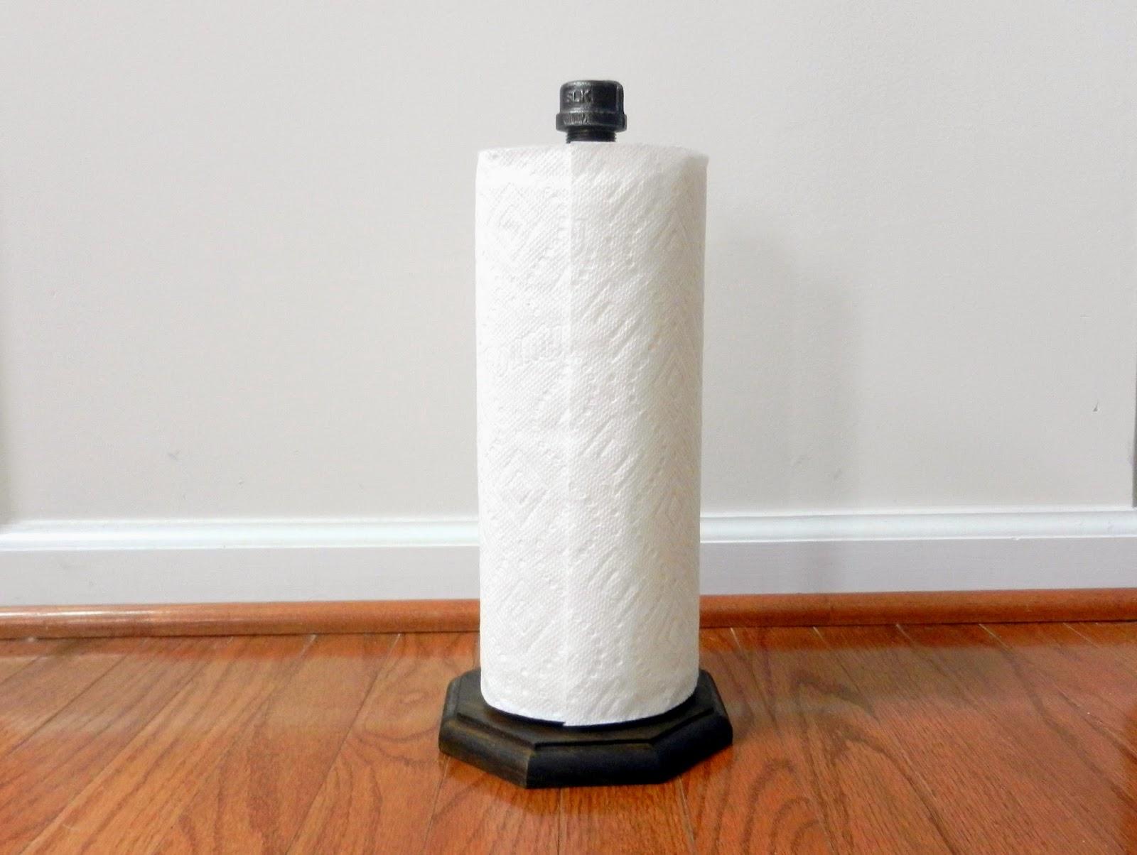 Industrial Paper Towel Holder {Tutorial}