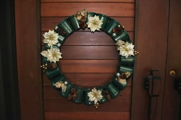How To Recycle Plastic Cups Wreath And Decor Tutorial
