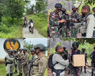 Tiga Pos Operasi Madago Raya di Tamanjeka, hari ini dikunjungi Kapolda Sulteng Pakai Motor Trail