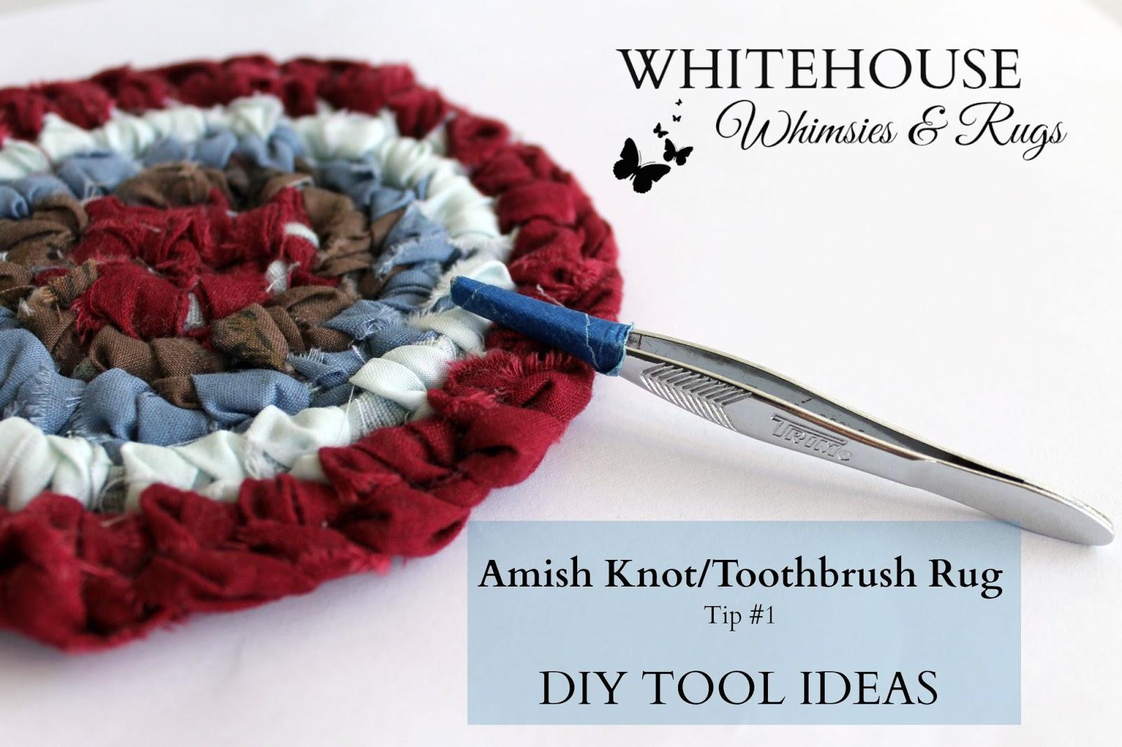 Toothbrush Rag Rug