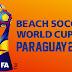 Presentación del emblema de la Copa Mundial de Beach Soccer de la FIFA Paraguay 2019.