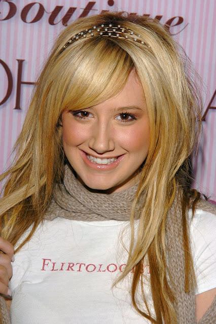 Ashley Tisdale 'Flirtologist' tee.  PYGear.com