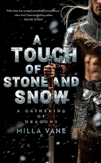 Book Review: A Touch of Stone and Snow (A Gathering of Dragons #2) by Milla Vane | About That Story