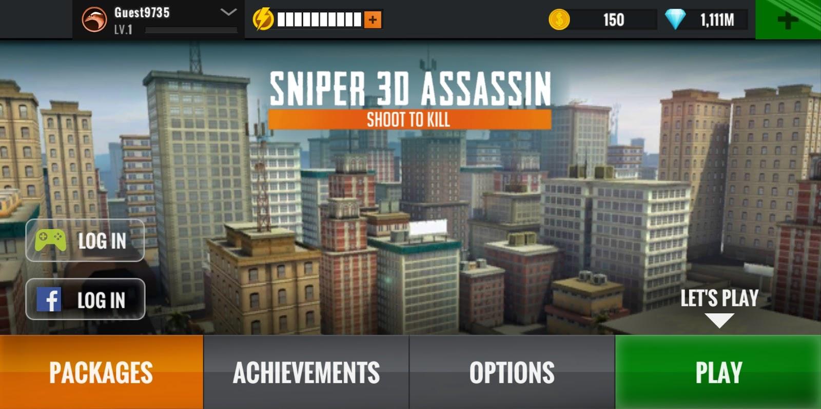 Sniper 3D Gun Shooter Mod Apk Version 2 16 22 Unlimited Money