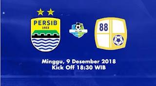 Persib Bandung vs Barito Putera - Minggu 9 Desember 2018