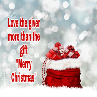 Love the giver | Christmas wishes | 2019