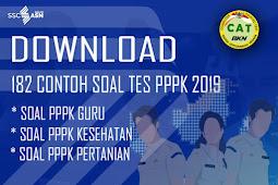 Download Contoh Soal Seleksi PPPK 2019 Lengkap Format Pdf