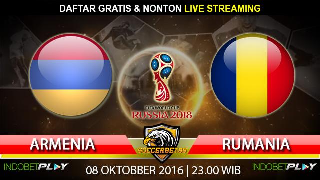 Prediksi Armenia vs Rumania 08 Oktober 2016 (Piala Dunia 2018)