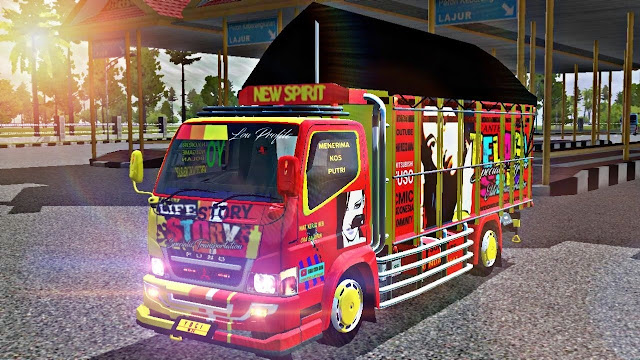 Download Mod Bussid Truck Canter Cabe