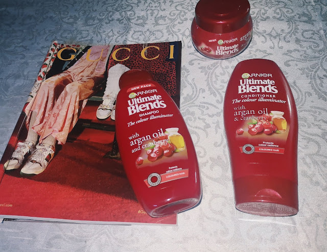 AFFORDABLE SHAMPOO AND CONDITIONER FOR DYED HAIR - GARNIER ULTIMATE BLENDS REVIEW