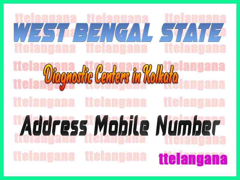 Diagnostic Centers in Kolkata West Bengal
