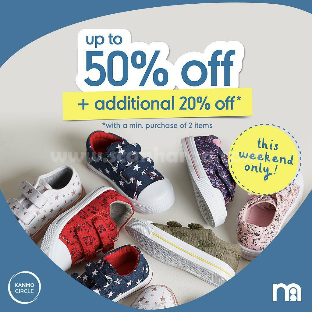 Promo MOTHERCARE SEASONAL SAVERS! Disc. 50% Off + Aditional up to 20% Off