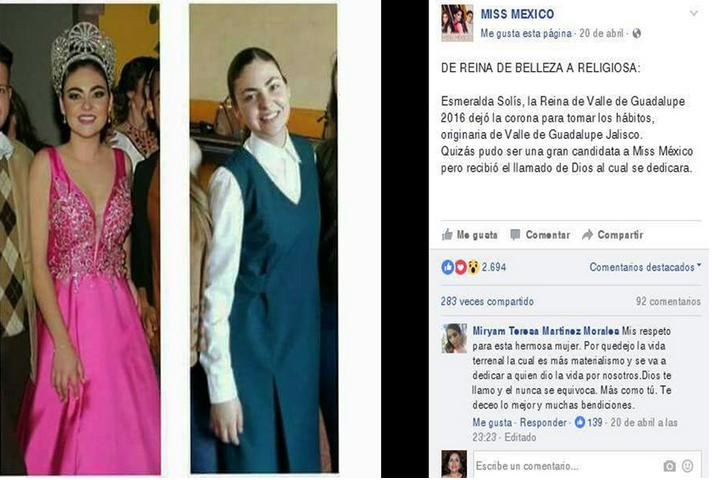Esmeralda Solís Gonzáles (Foto : @mexicopegeant)
