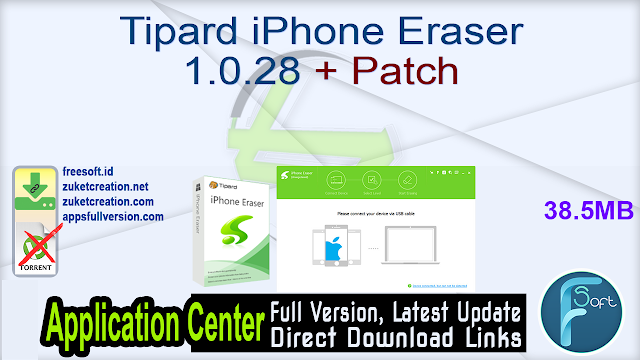 Tipard iPhone Eraser 1.0.28 + Patch