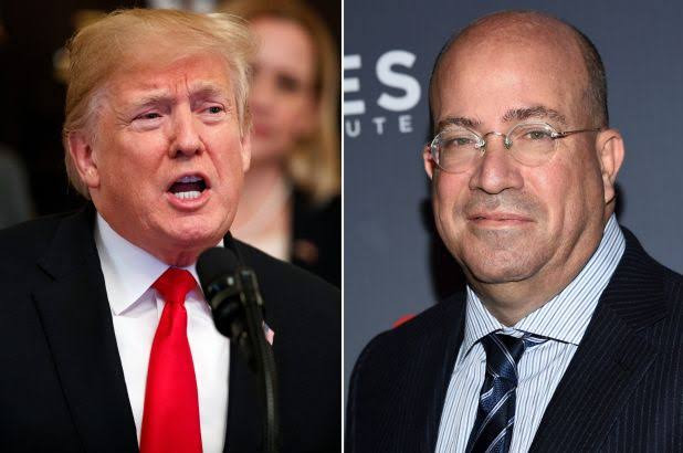 Busted: Hear leaked audio of CNN chief Jeff Zucker praising Trump and offering to give him a weekly show on the network