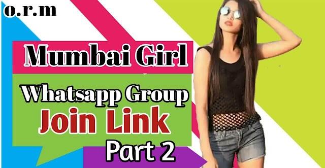 MUMBAI GIRLS WHATSAPP GROUPS LINKS PART 2| GIRLS WHATSAPP GROUPS LINKS | MUMBAI GIRL WHATSAPP GROUP LINK