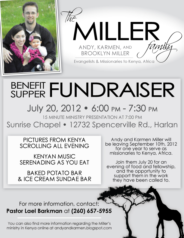Examples Of Flyers For Fundraisers – Benefit Flyer Templates