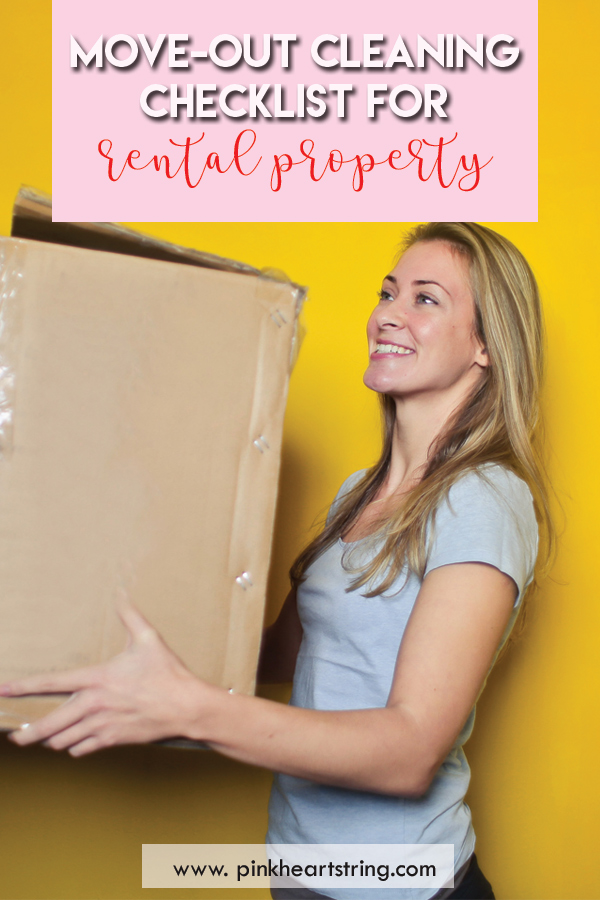 A Move-Out Cleaning Checklist for Rental Property