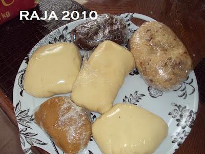 حلويات عيد الفطر جزائرية  بلاطو لاشكال عديدة بعجينة واحدة بالصور 2.jpg