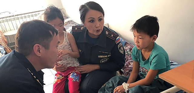 10-летний Ариан Алексеев, рискуя собственной жизнью, спас из горящего дома четверых маленьких детей!