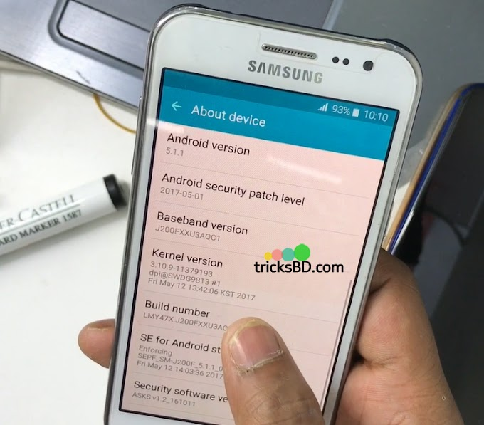 How To Root Samsung J200F U3 Android 5.1.1 Lollipop