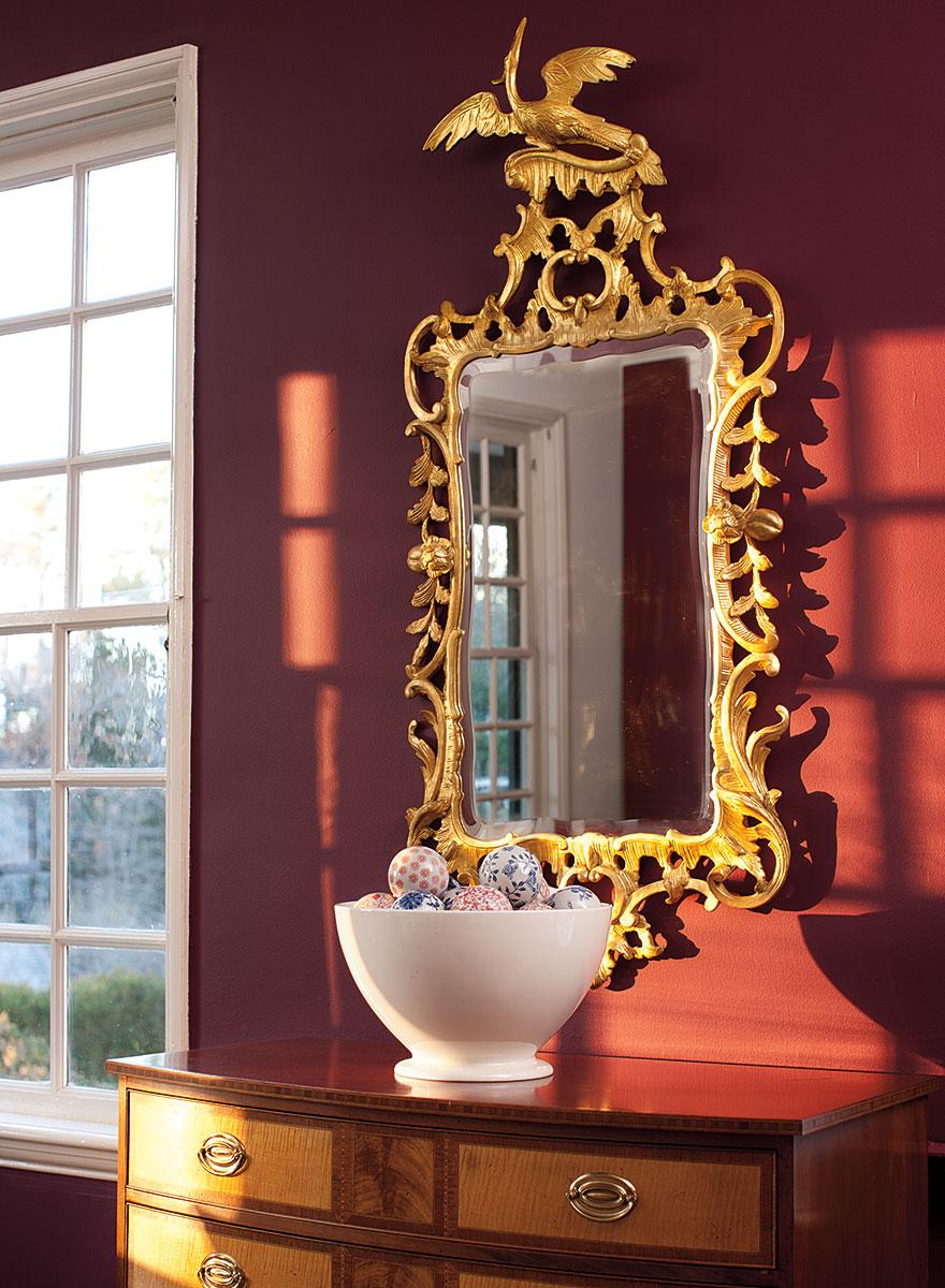Lisa mende design benjamin moore williamsburg paint - Benjamin moore aura interior paint ...