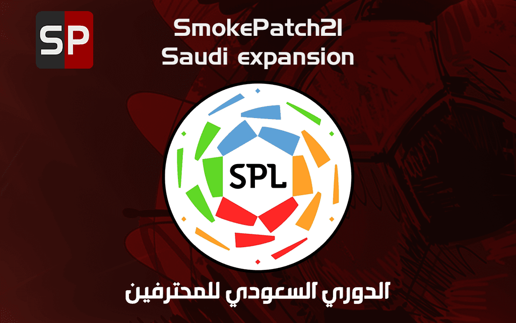 eFootball PES 2021 - Saudi Professional League Patch ( smokepatch21 version 21.3.3 or newer)