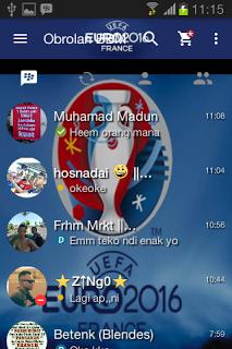 BBM Mod Tema Uefa Euro 2016 v2.13.1.14 Apk Terbaru