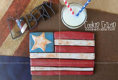 http://www.cookiecrazie.com/2015/06/wood-plank-american-flag-cookies.html