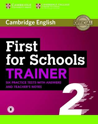 First for Schools Trainer 2 (2018)  PDF + CD audio