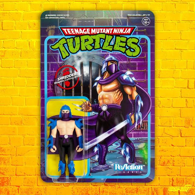 """2019 Super7 ReAction Teenage Mutant Ninja Turtles DONATELLO 4/"""" Figure MOC"""