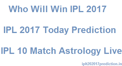 Who Will Win IPL 2017